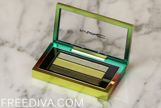 MAC Green Clean Veluxe Pearlfusion Shadow Wash and Dry Collection