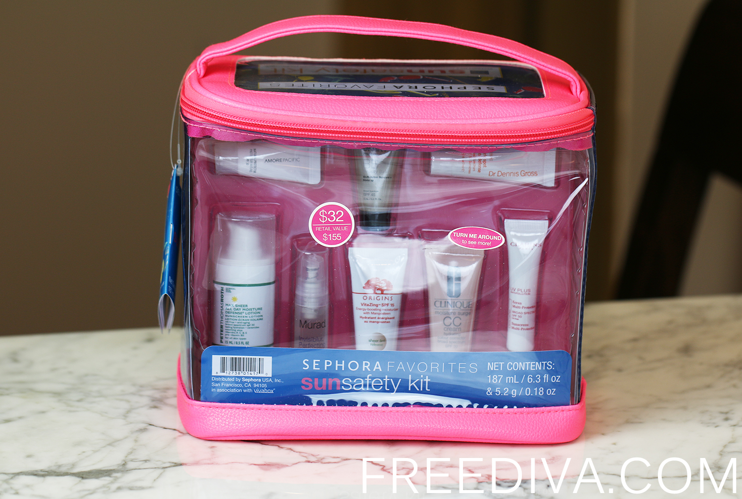 Sun Safety Kit Sephora Favorites 2015