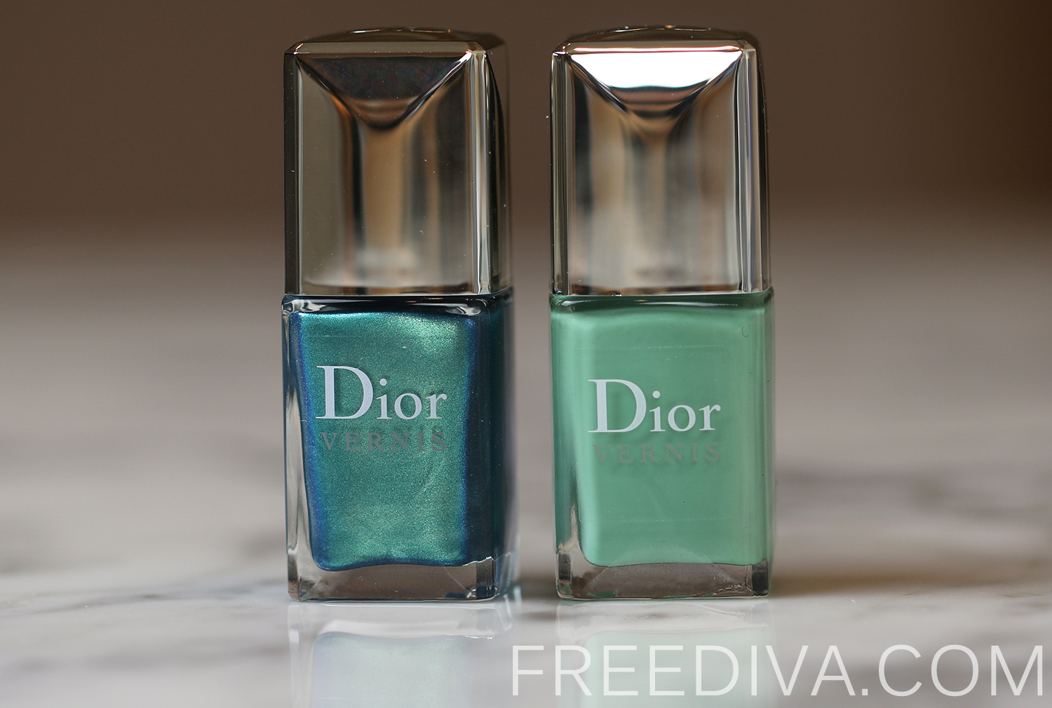 Dior Bird of Paradise 01 Samba Summer Nail Lacquer Duo
