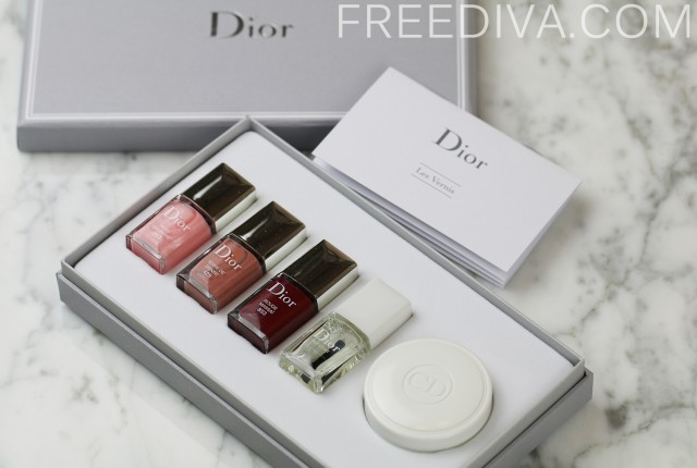 Dior Diva Loyalty Program Manicure Set