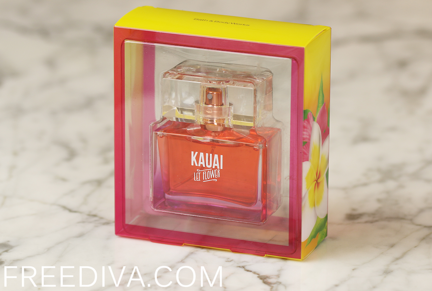 Kauai Lei Flower Mini Perfume Bath & Body Works