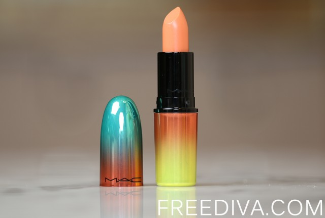 MAC Tumble Dry Lustre Lipstick Wash and Dry Collection