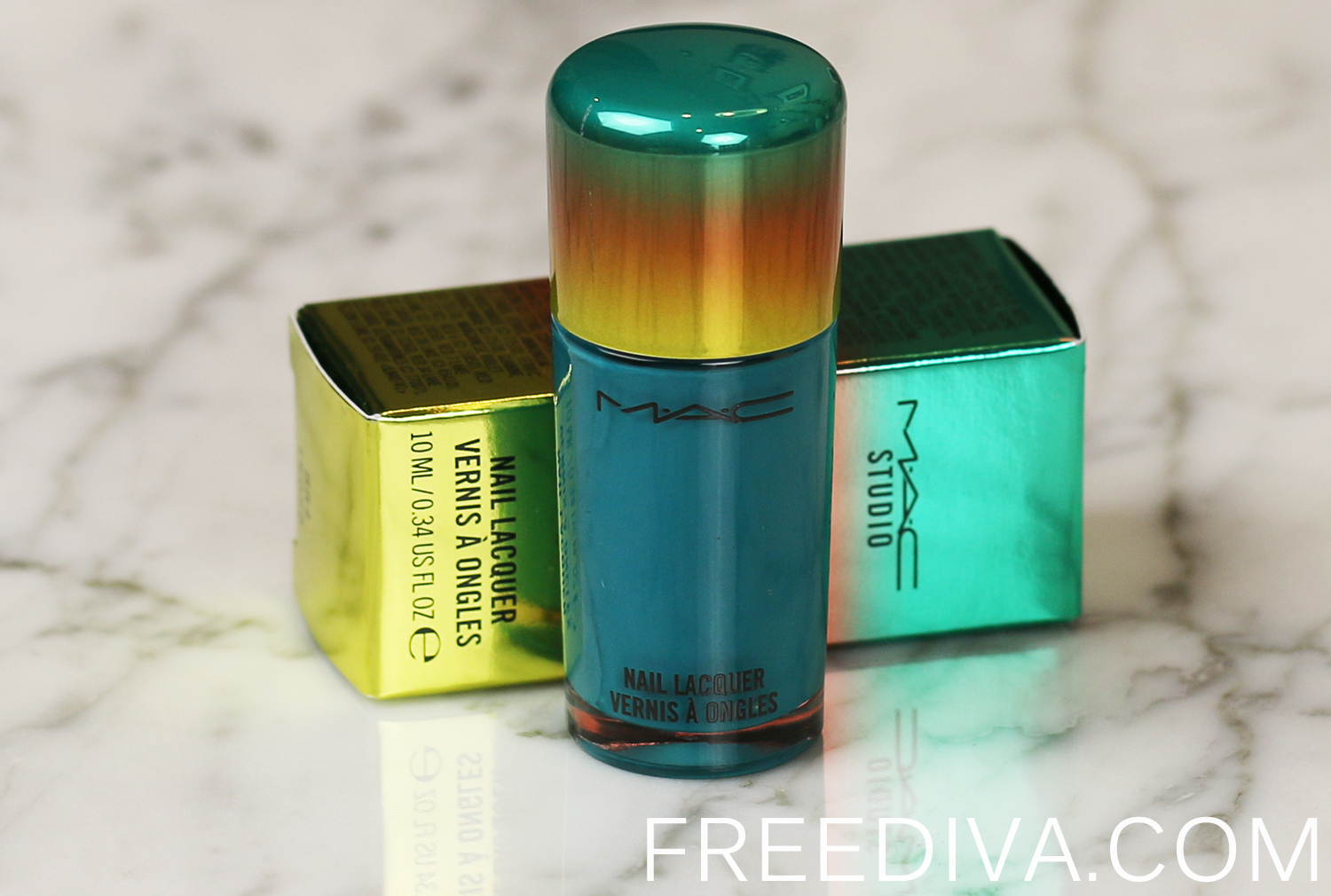 MAC Washeteria Nail Lacquer Wash and Dry Collection