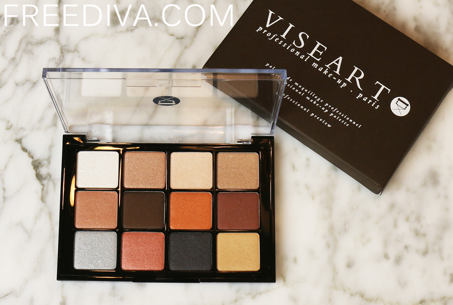 Viseart Eyeshadow Palette 05 Sultry Muse