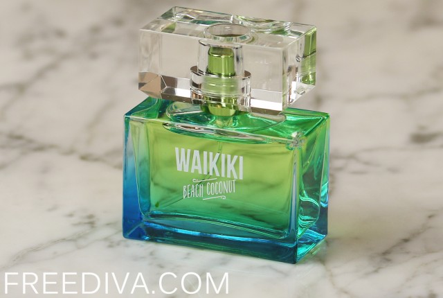 Waikiki Beach Coconut Mini Perfume Bath & Body Works