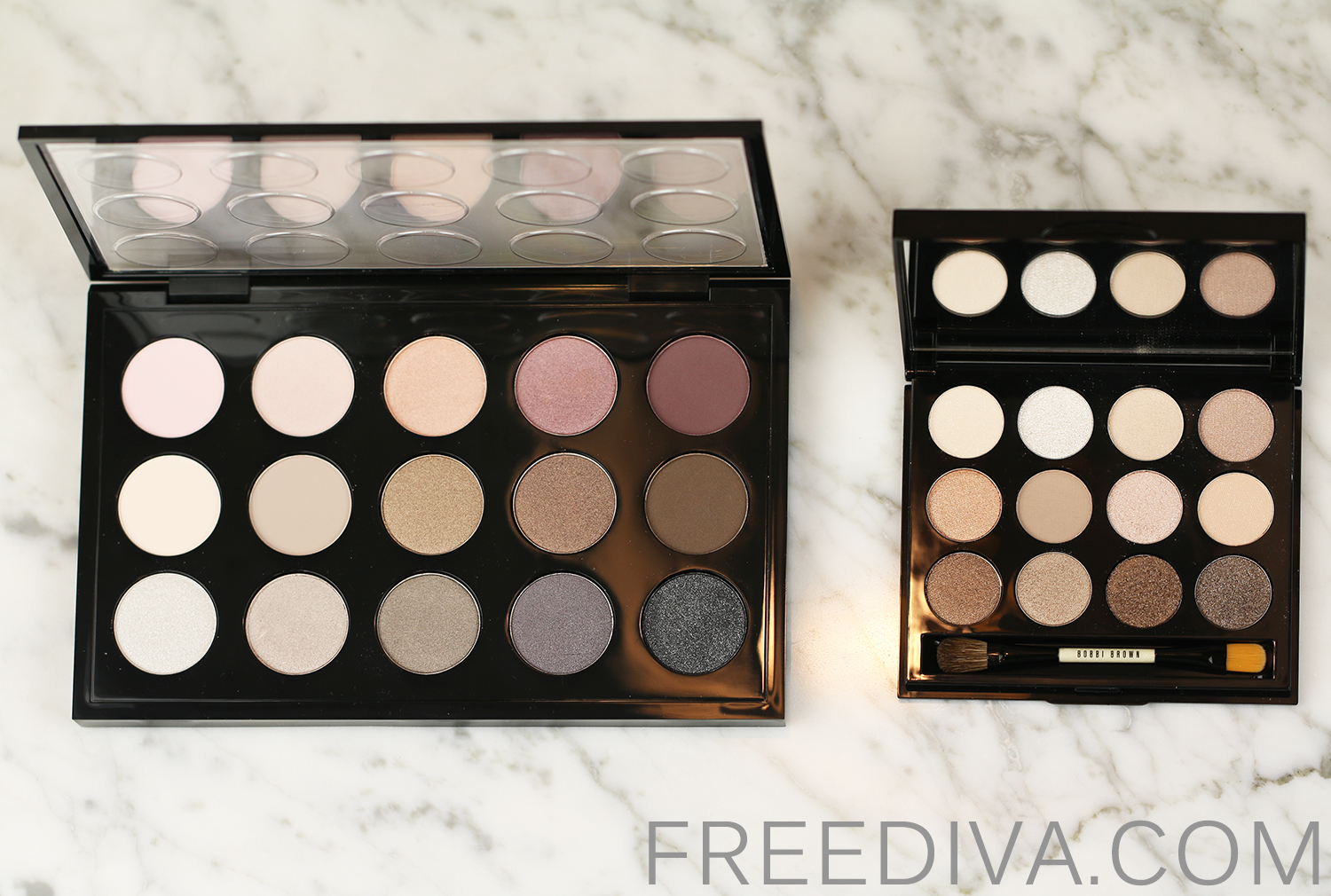 Bobbi Brown Shimmering Sands Eye Palette Sandy Nudes Collection