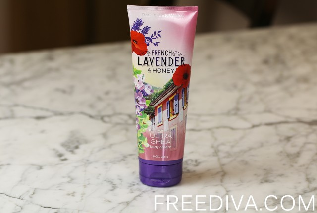 French Lavender & Honey Body Cream Bath & Body Works